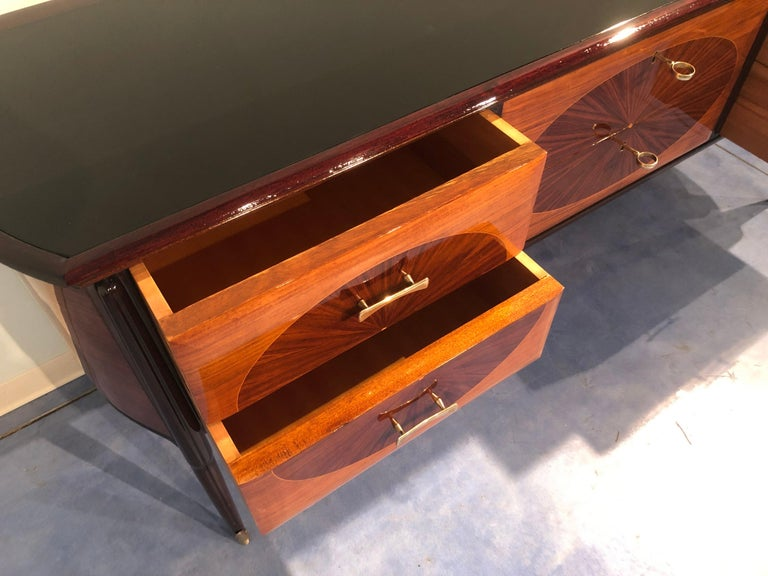 Italian Mid-Century Modern Dresser, Commode or Console by Vittorio Dassi, 1950s For Sale 9