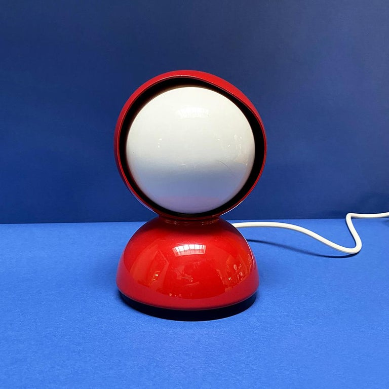 Italian Mid-Century Modern Eclissi Lamp by Vico Magistretti for Artemide, 1967 In Good Condition For Sale In MIlano, IT