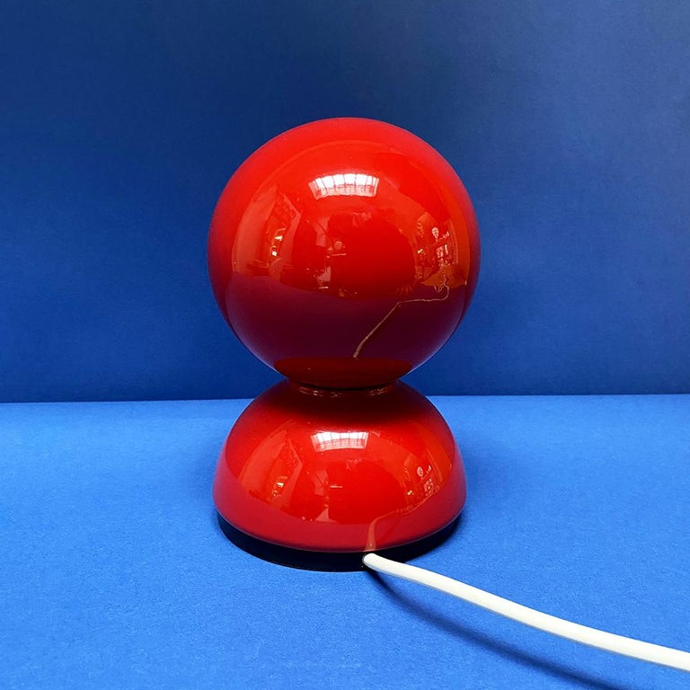 Metal Italian Mid-Century Modern Eclissi Lamp by Vico Magistretti for Artemide, 1967 For Sale