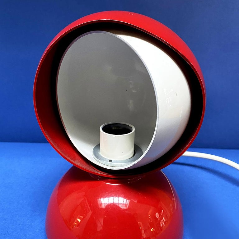 Italian Mid-Century Modern Eclissi Lamp by Vico Magistretti for Artemide, 1967 For Sale 1