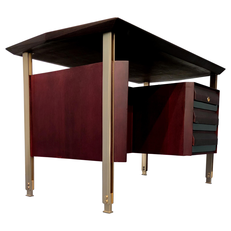 Italian Mid-Century Modern Executive Desk by Vittorio Dassi, 1960s