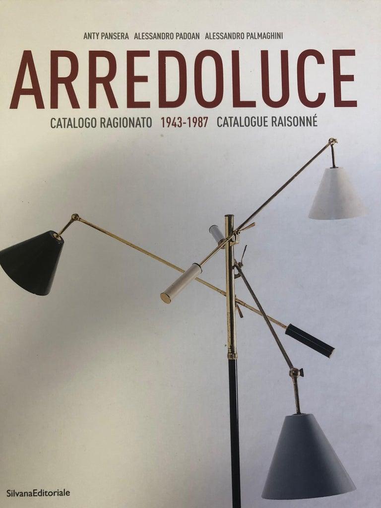 Italian Mid-Century Modern Floor Lamp in the style of Arredoluce For Sale 7