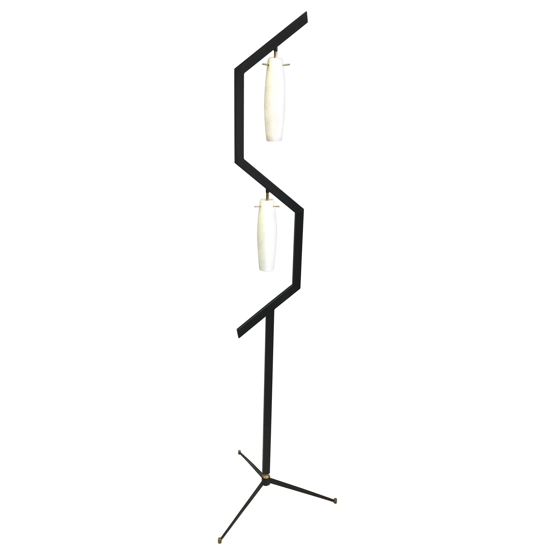 Italian Mid-Century Modern Floor Lamp in the style of Arredoluce