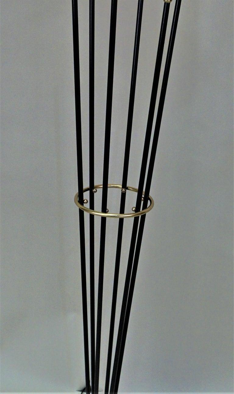 Mid-20th Century Italian Mid-Century Modern Floor Lamp by Stilnovo