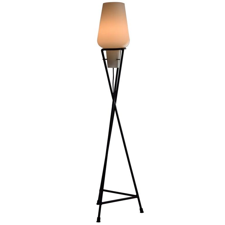 Italian Mid Century Modern Floor Lamp