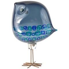 "Italian Mid-Century Modern Glass ""Pulcino"" by, Alessandro Pianon for Vistosi"
