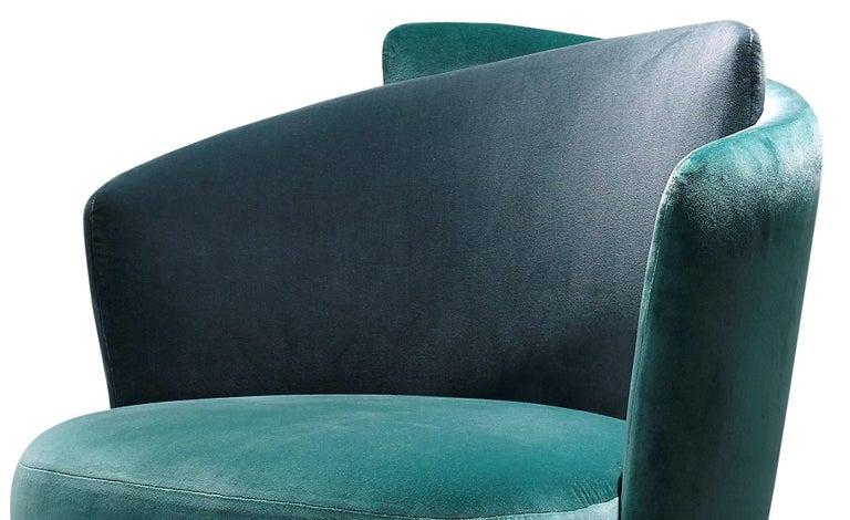 Italian Mid-Century Modern Inspired Armchair For Sale 1