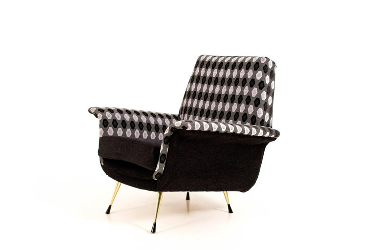Italian Mid-Century Modern Lounge Chairs, 1960s In Good Condition For Sale In Amsterdam, NL