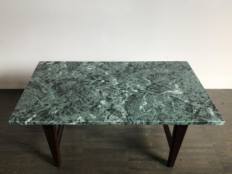 Mid-20th Century Italian Mid-Century Modern Marble Coffee Table, 1960s For Sale