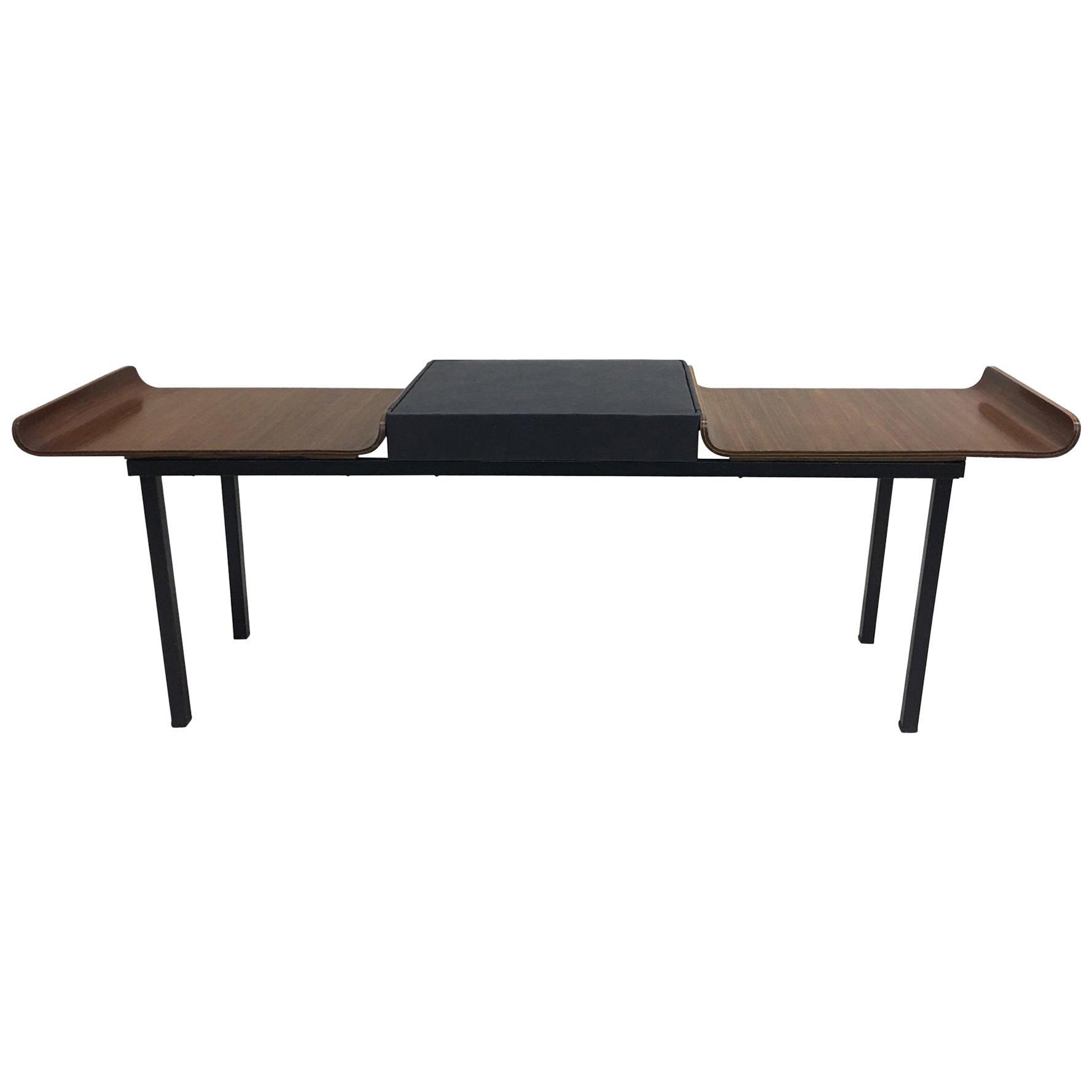 Italian Mid-Century Modern / Minimalist Bench by Franco Campo and Carlo Graffi