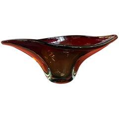 Italian Mid-Century Modern Murano Glass Centerpiece Sommersi Series, 1960s