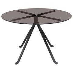 Italian Mid-Century Modern Round Table Cugino by Enzo Mari for Driade, 1973
