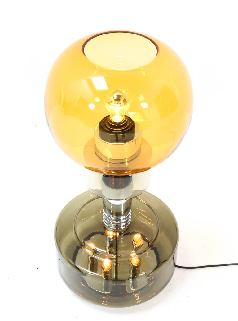 Late 20th Century Italian Mid-Century Modern Table Lamp or Floor Lamp in the style of Sciolari For Sale