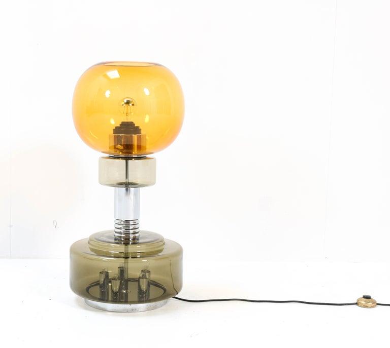 Italian Mid-Century Modern Table Lamp or Floor Lamp in the style of Sciolari For Sale 2