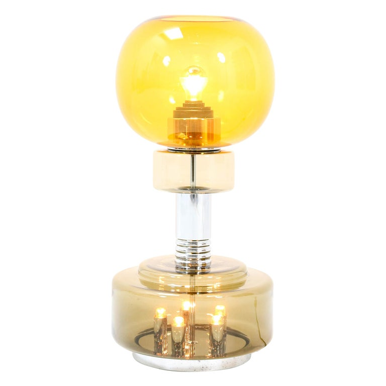 Italian Mid-Century Modern Table Lamp or Floor Lamp in the style of Sciolari For Sale