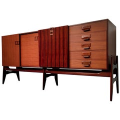 Italian Mid-Century Modern Teak Sideboard, 1960s