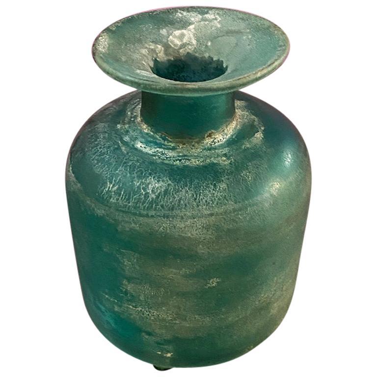 Italian Midcentury Murano Glass Vase by Gino Cenedese from Scavo Series, 1960s