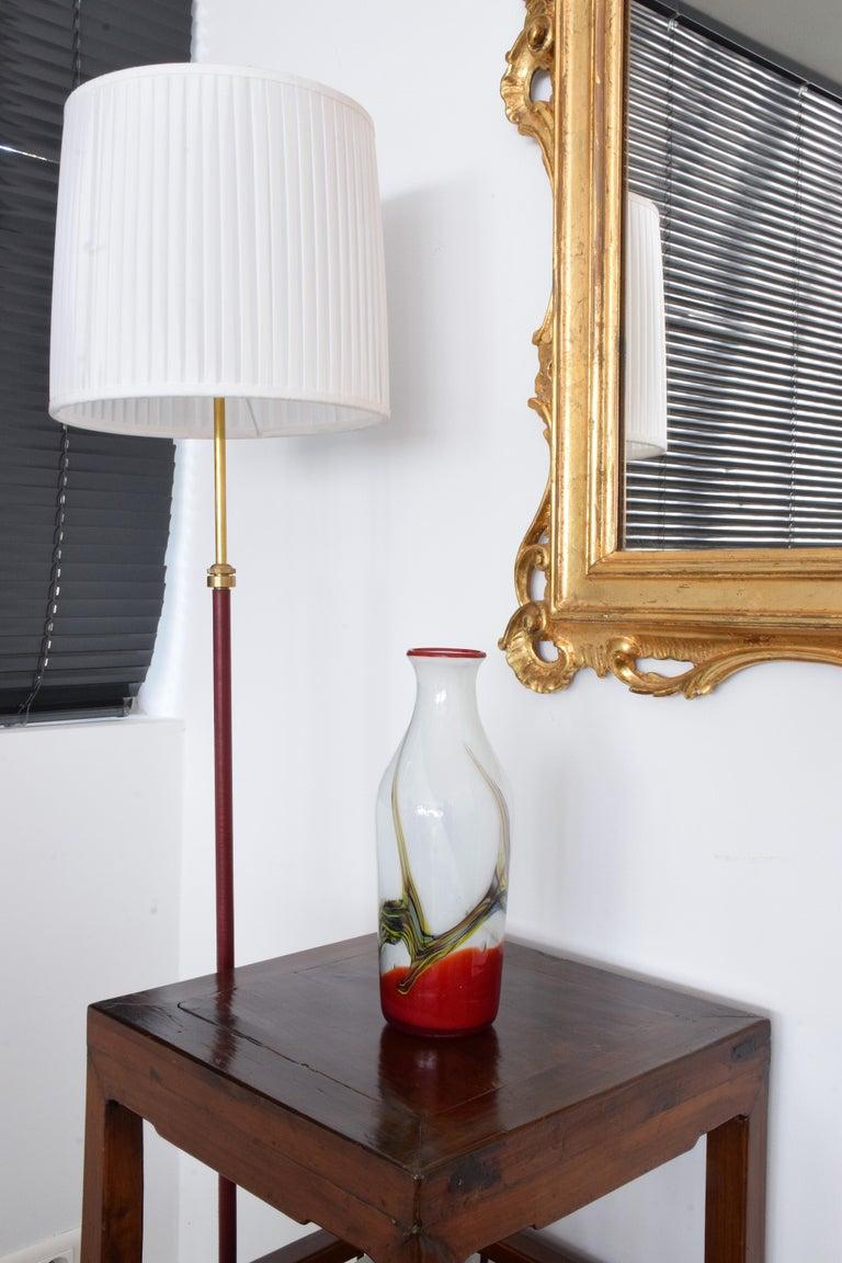 Italian Midcentury Murano Vase, 1970s In Good Condition For Sale In Paris, FR