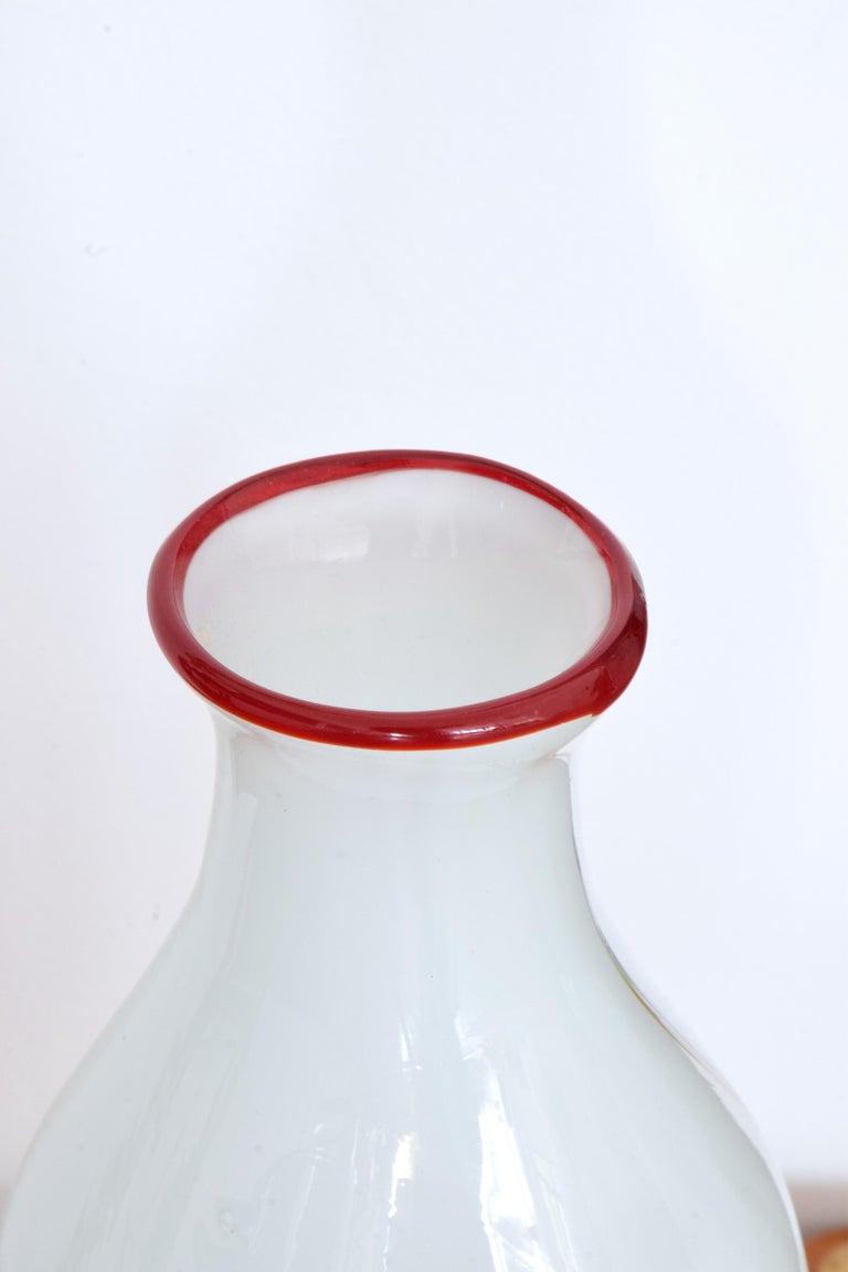 Italian Midcentury Murano Vase, 1970s For Sale 2