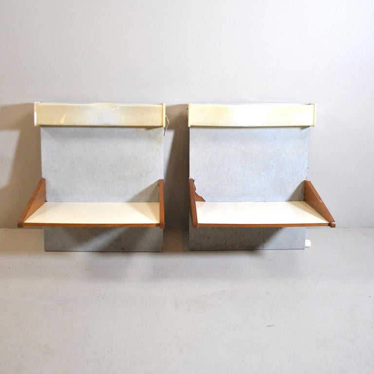 Mid-Century Modern Italian Midcentury Nightstands from the 1960s For Sale