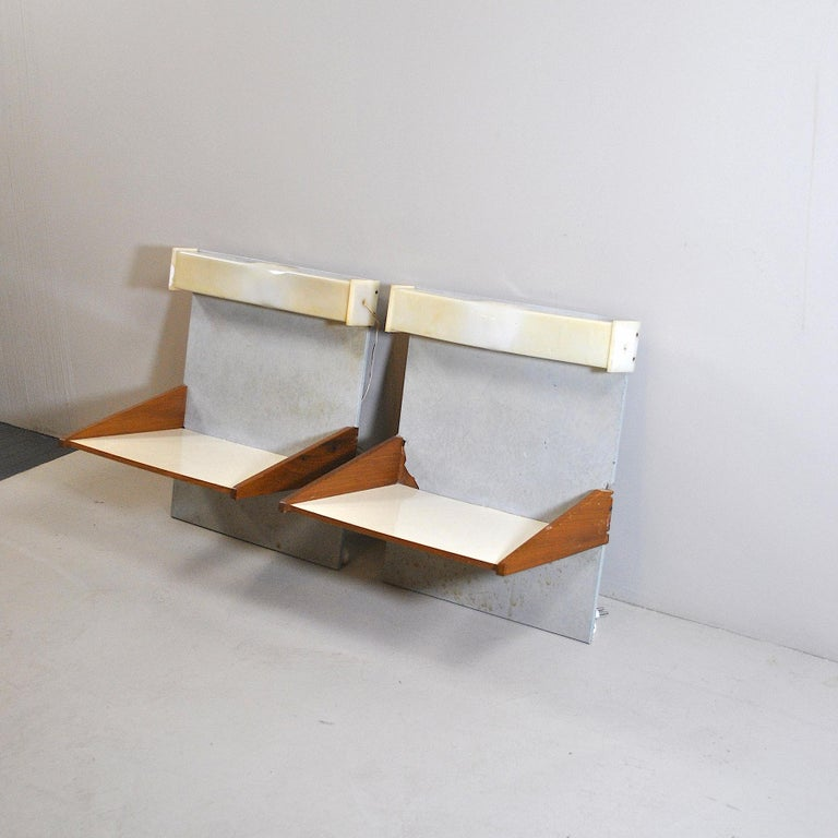 Italian Midcentury Nightstands from the 1960s In Good Condition For Sale In bari, IT