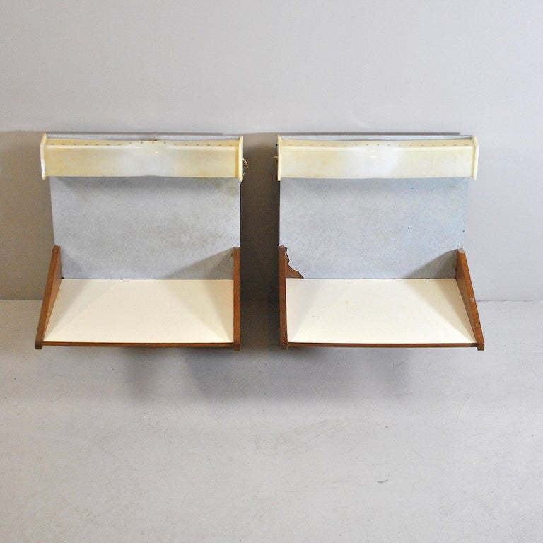 Mid-20th Century Italian Midcentury Nightstands from the 1960s For Sale