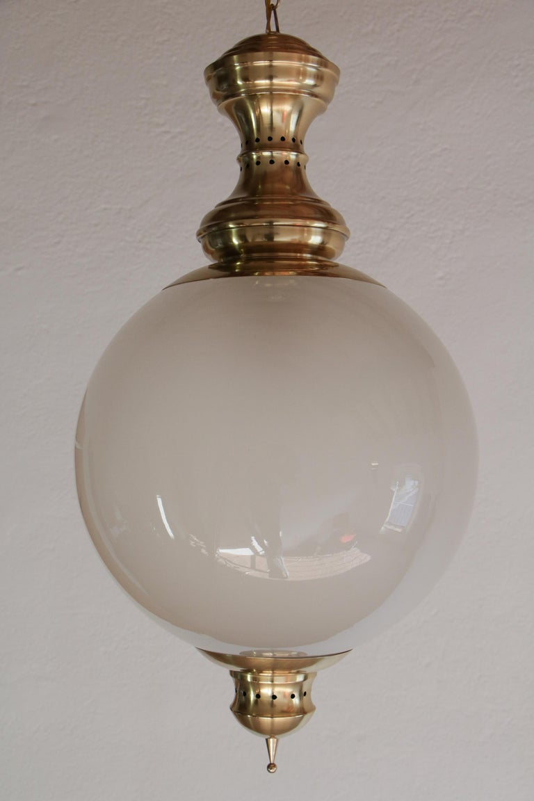 Mid-Century Modern Italian Mid-Century Pendant Lamp by Luigi Caccia Dominioni Model LS1, 1950s For Sale