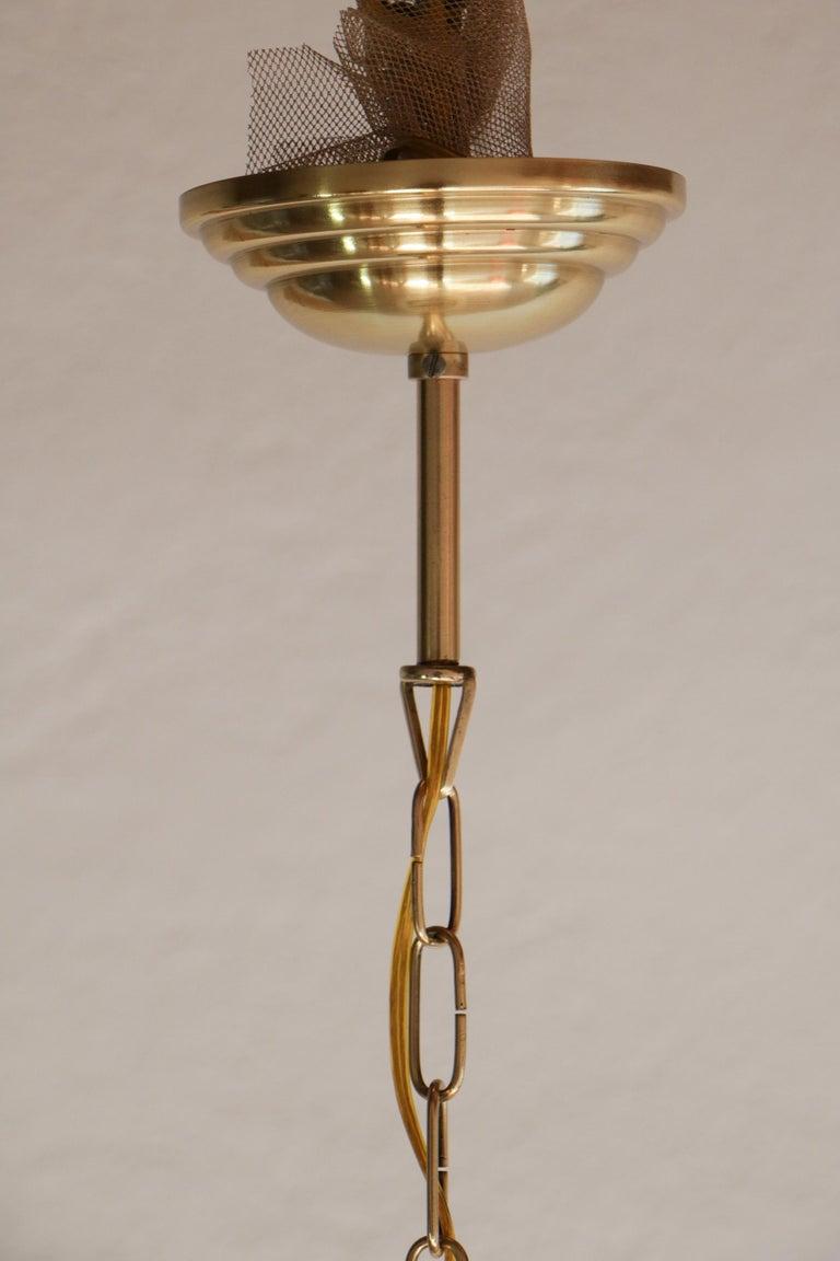 Italian Mid-Century Pendant Lamp by Luigi Caccia Dominioni Model LS1, 1950s For Sale 1