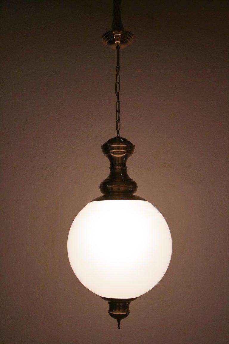 Italian Mid-Century Pendant Lamp by Luigi Caccia Dominioni Model LS1, 1950s For Sale 2