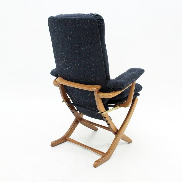 Fine Italian Midcentury Recliner Armchair 1950S Inzonedesignstudio Interior Chair Design Inzonedesignstudiocom