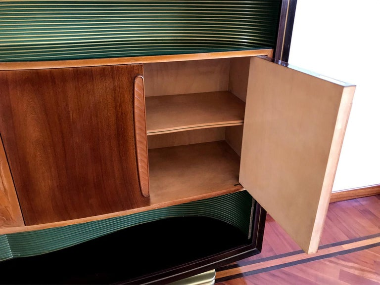 Italian Mid-Century Sideboard Art Déco style by Vittorio Dassi, 1950s For Sale 14