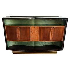 Italian Mid-Century Sideboard Art Deco Style by Vittorio Dassi, 1950s