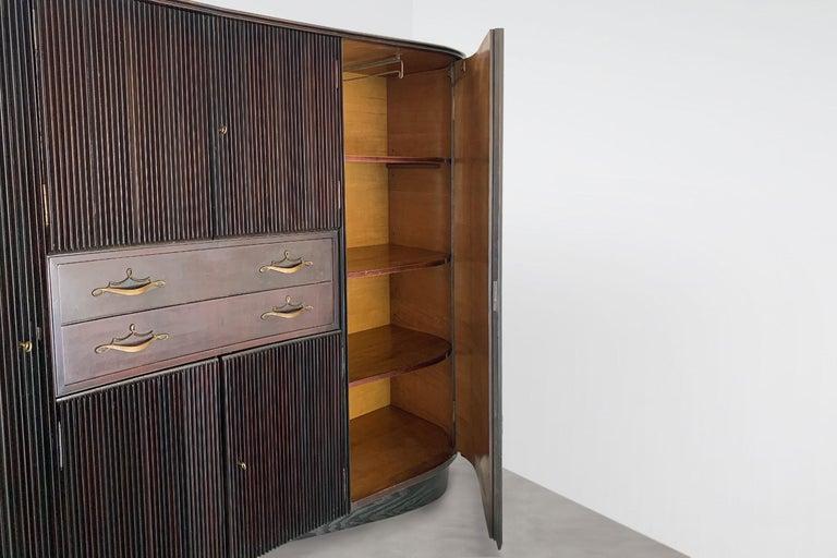 Mid-Century Modern Italian Midcentury Sideboard by Osvaldo Borsani For Sale