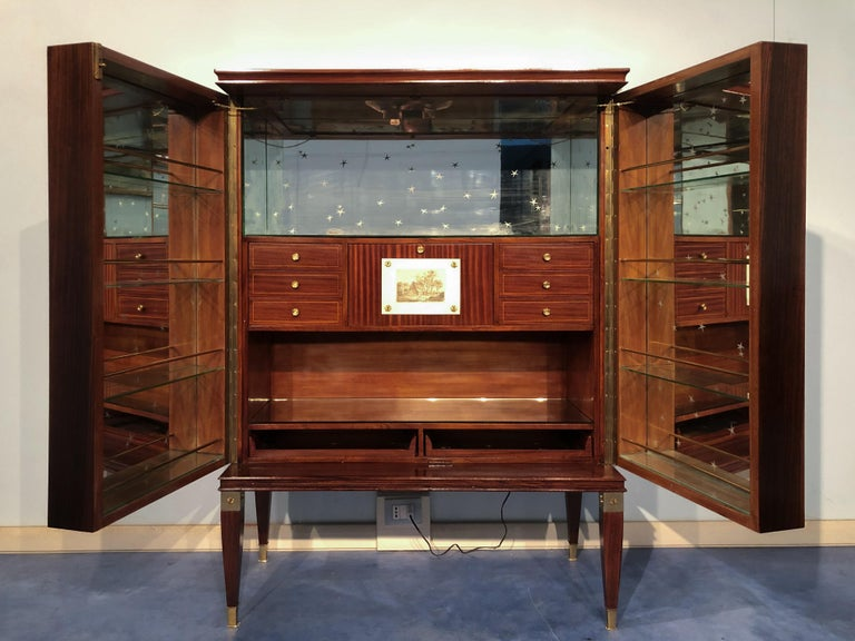 Italian Mid-Century Sideboard or Bar Cabinet by Paolo Buffa, 1950s For Sale 12