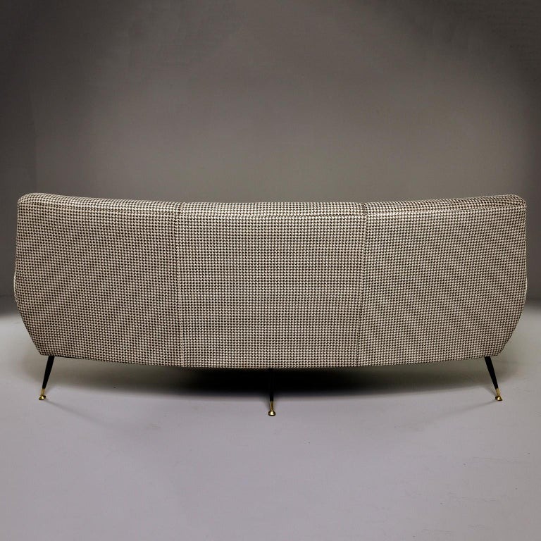 Italian Midcentury Sofa or Settee by Gigi Radice for Minotti For Sale 8