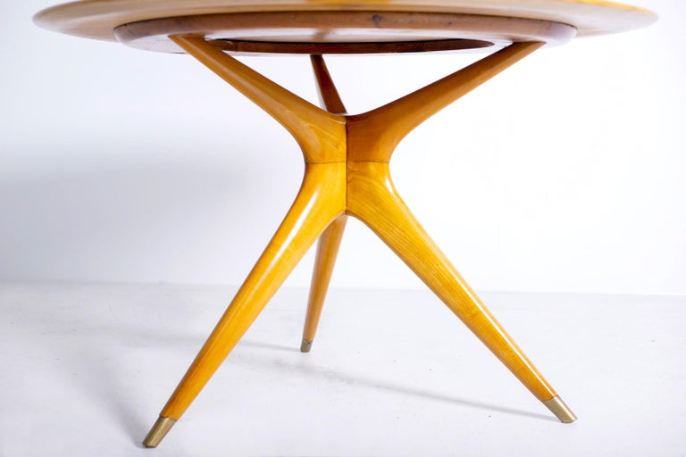 Mid-Century Modern Italian Midcentury Table by Ico Parisi for Fratelli Rizzi, 1950s Published