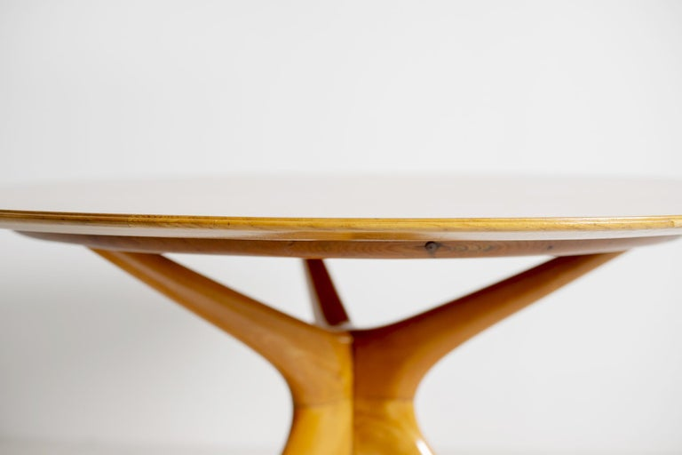 Italian Midcentury Table by Ico Parisi for Fratelli Rizzi, 1950s Published 1