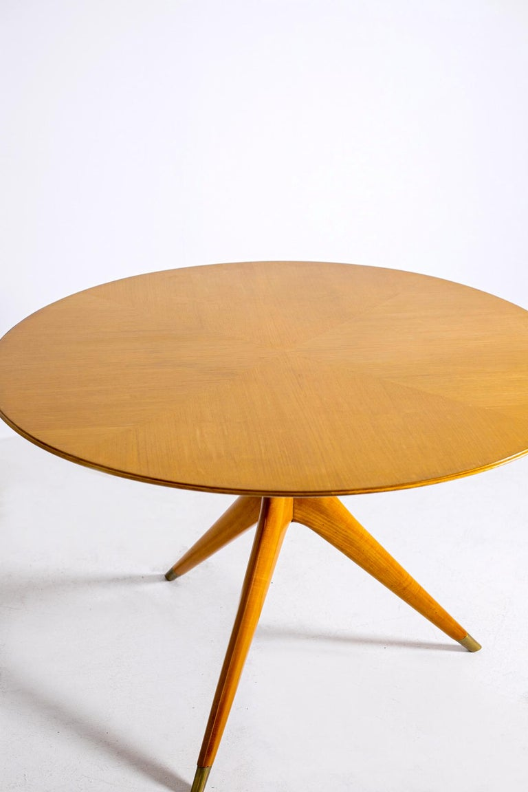 Italian Midcentury Table by Ico Parisi for Fratelli Rizzi, 1950s Published 2