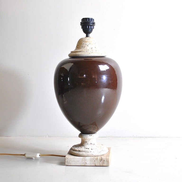 Mid-20th Century Italian Midcentury Table Lamps For Sale