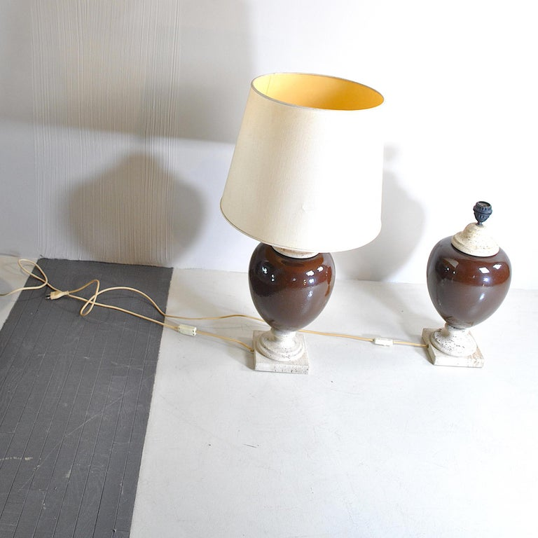 Italian Midcentury Table Lamps For Sale 2