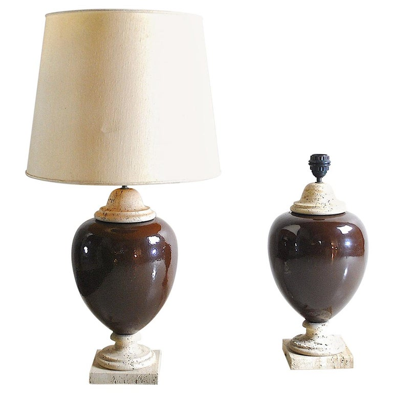 Italian Midcentury Table Lamps For Sale