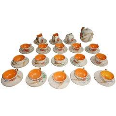 Italian Mid-Century Tea and Coffee Set for 15 Persons