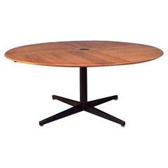 Italian Midcentury Teak Table Model T41 by Osvaldo Borsani for Tecno, 1958