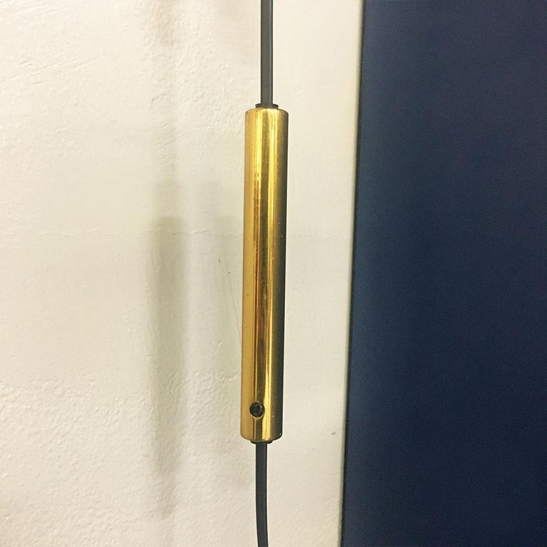Italian Midcentury Telescopic Wall Lamp Stilnovo in Solid Wood and Metal, 1950s For Sale 4