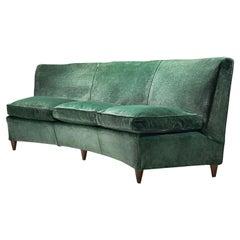 Italian Mid-Century Three-Seater Sofa, Italy 1950s