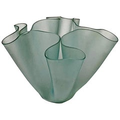 Italian Mid-Century Vase Cartoccio by Pietro Chiesa for Fontana Arte, 1940s