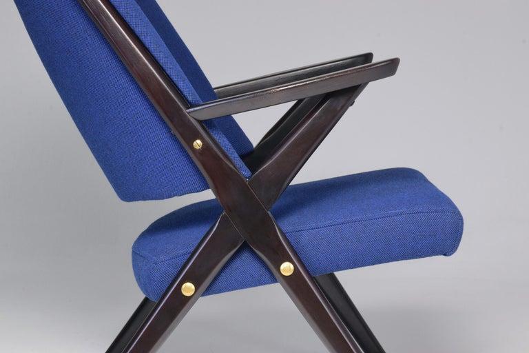 Mid-Century Modern Italian Midcentury Armchair by Dal Vera, 1950s For Sale