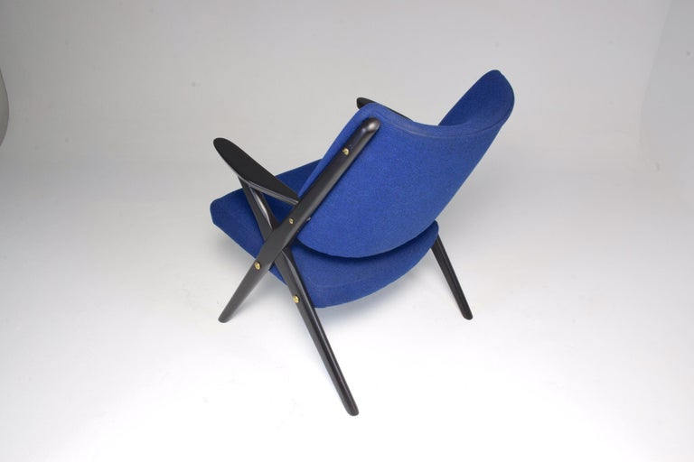20th Century Italian Midcentury Armchair by Dal Vera, 1950s For Sale