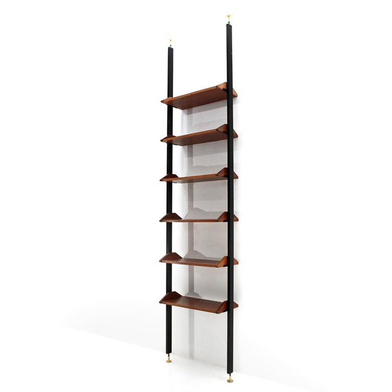 Italian manufacture shelves produced in the 1960s.