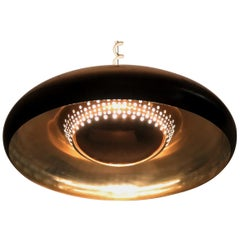 Italian Midcentury Brass Pendant by Afra and Tobia Scarpa for Flos, 1960s